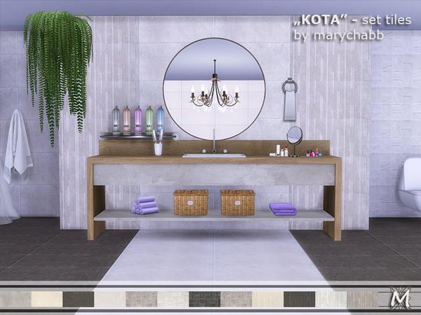 Sims 4 KOTA Set Tiles by marychabb at TSR