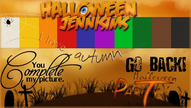 Halloween is coming CAS Screens at Jenni Sims image 911 670x379 Sims 4 Updates