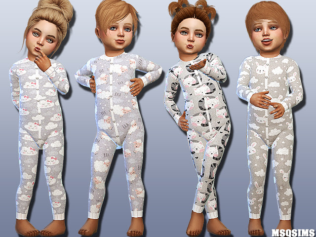 Sims 4 Toddler Body Collection 01 at MSQ Sims