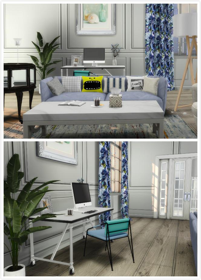 Sims 4 Autumn Living Room at Viviansims Studio