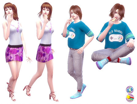 ACC Lactic acid drink A at A luckyday image 923 Sims 4 Updates