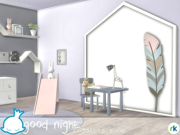 Good Night Toddlers Room by Nikadema at TSR image 925 Sims 4 Updates
