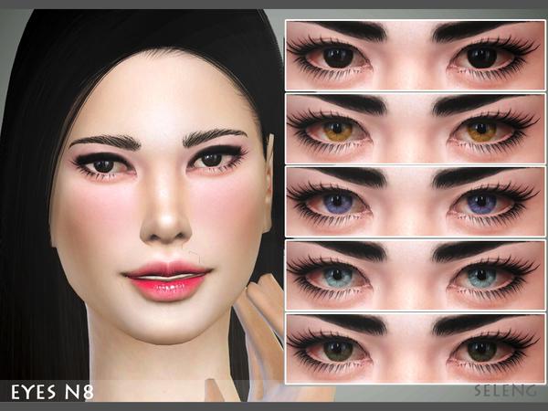 Sims 4 Eyes N8 by Seleng at TSR