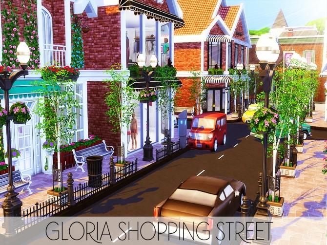 Gloria Shopping Street (NO CC) at MSQ Sims image 93 670x503 Sims 4 Updates
