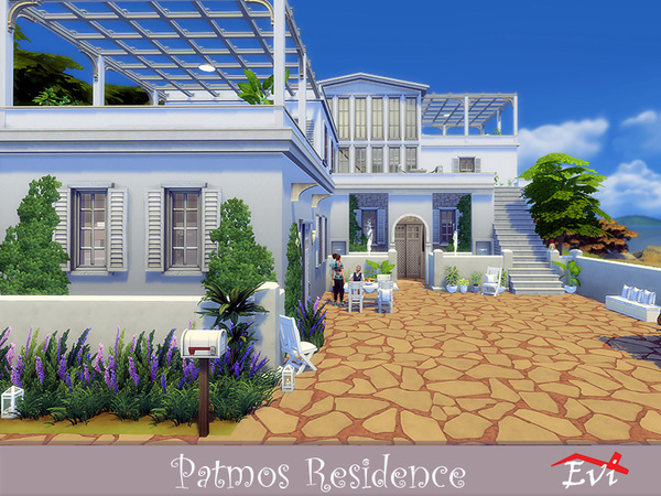 Sims 4 Patmos Residence by evi at TSR