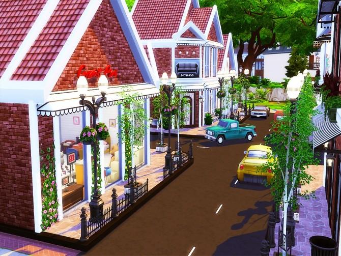 Gloria Shopping Street (NO CC) at MSQ Sims image 94 670x503 Sims 4 Updates