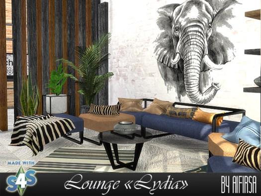Lydia livingroom at Aifirsa image 9412 Sims 4 Updates