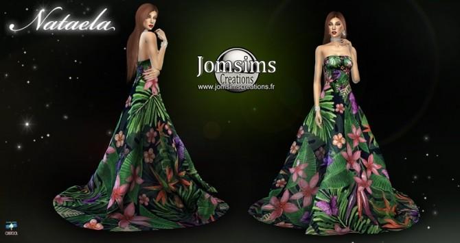 Sims 4 Nataela dress at Jomsims Creations