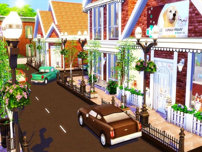 Gloria Shopping Street (NO CC) at MSQ Sims image 95 670x503 Sims 4 Updates