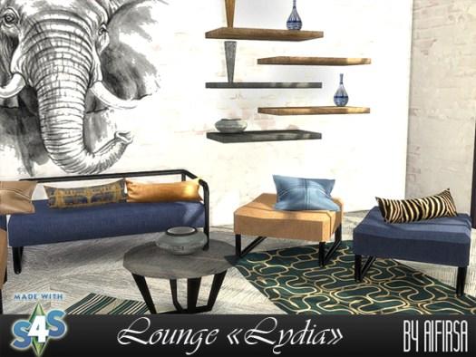 Lydia livingroom at Aifirsa image 9512 Sims 4 Updates