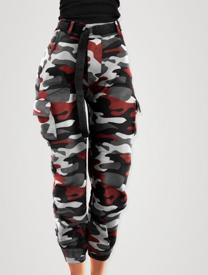 Camo cargo pants at Elliesimple image 953 670x884 Sims 4 Updates