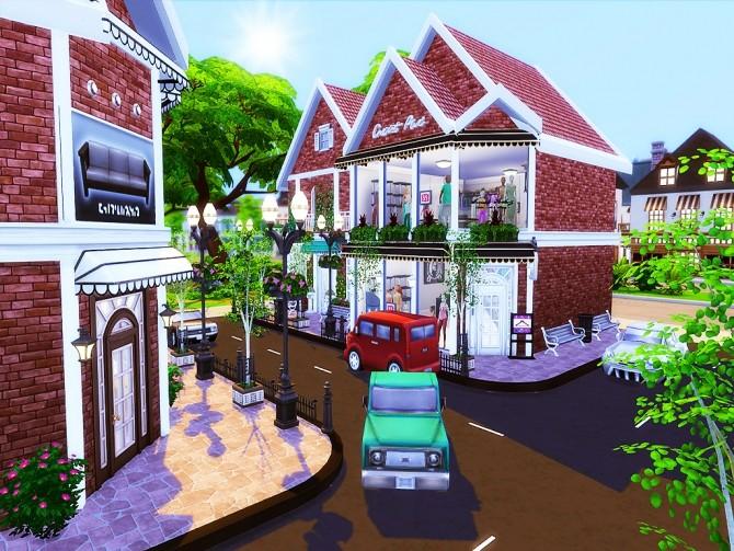 Gloria Shopping Street (NO CC) at MSQ Sims image 96 670x503 Sims 4 Updates