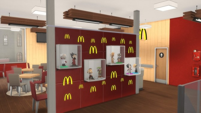 Sims 4 McDonald's Restaurant #3 by Ansett4Sims at RomerJon17 Productions