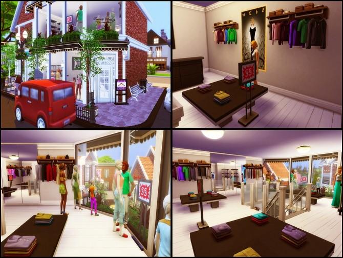 Gloria Shopping Street (NO CC) at MSQ Sims image 98 670x503 Sims 4 Updates