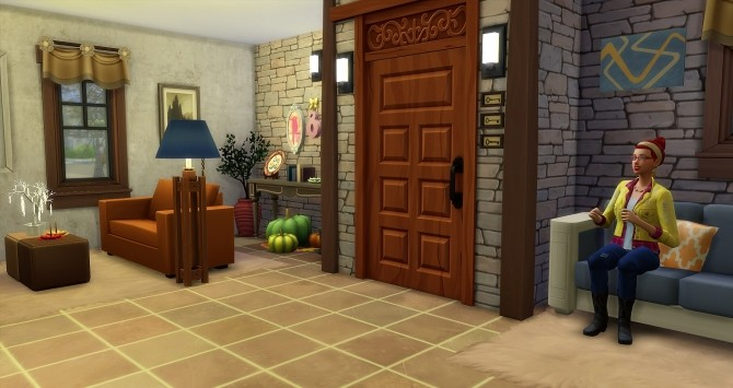 Fall house by Angerouge at Studio Sims Creation image 981 670x355 Sims 4 Updates
