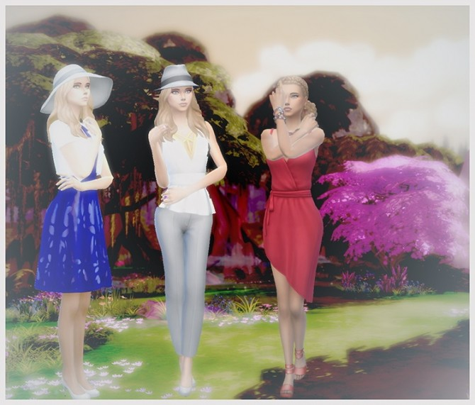 Sims 4 Estelle no CC by Mich Utopia at Sims 4 Passions