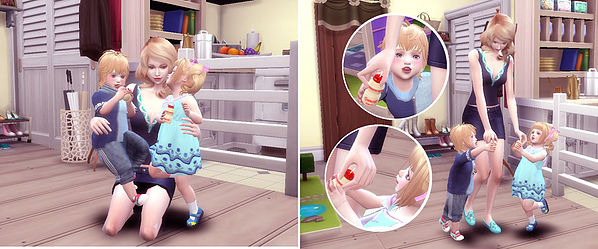 Lactic acid drink Pose at A luckyday image 983 Sims 4 Updates