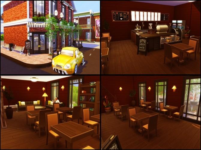 Gloria Shopping Street (NO CC) at MSQ Sims image 99 670x503 Sims 4 Updates