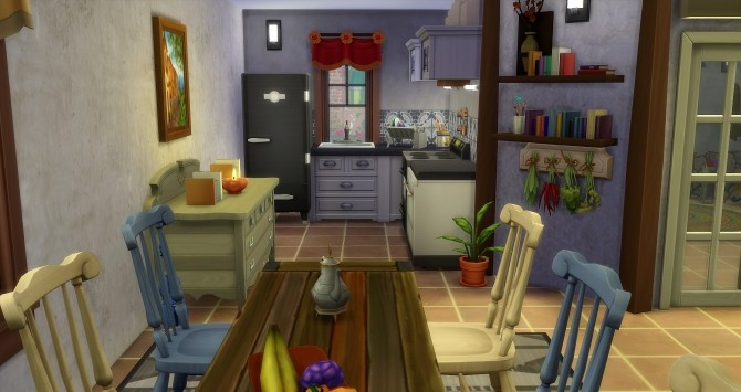 Fall house by Angerouge at Studio Sims Creation image 991 670x355 Sims 4 Updates