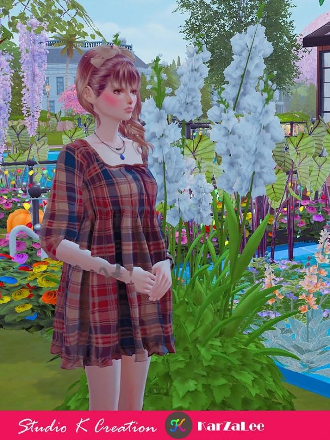 T03 Square neckline short dress at Studio K Creation image 10011 670x893 Sims 4 Updates