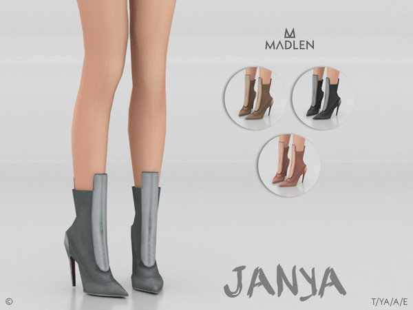 Sims 4 Madlen Janya Boots by MJ95 at TSR