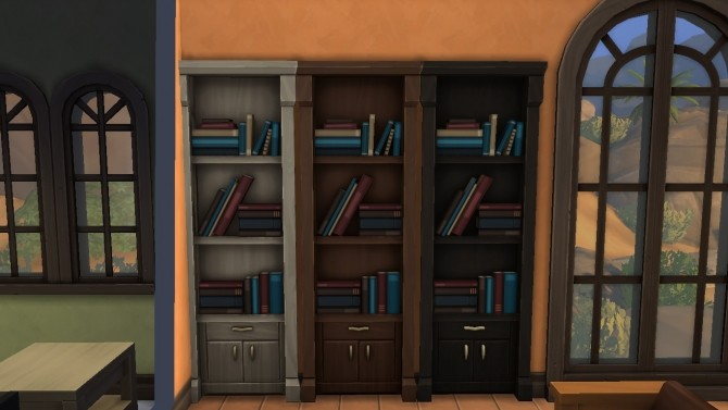 Book Shelf in Wall by iloveseals at Mod The Sims image 1008 670x377 Sims 4 Updates