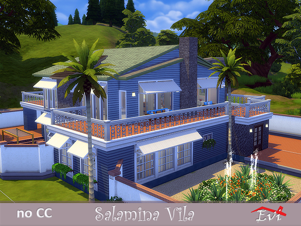 Salamina Villa by evi at TSR image 10105 Sims 4 Updates