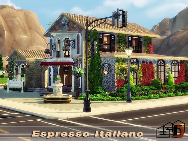 Espresso Italiano by Danuta720 at TSR image 1011 Sims 4 Updates