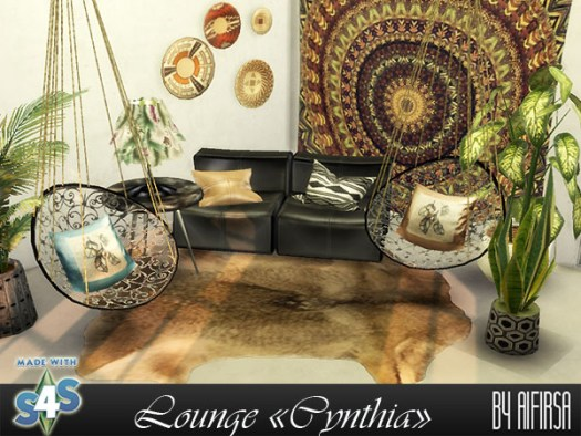 Cynthia lounge at Aifirsa image 1016 Sims 4 Updates