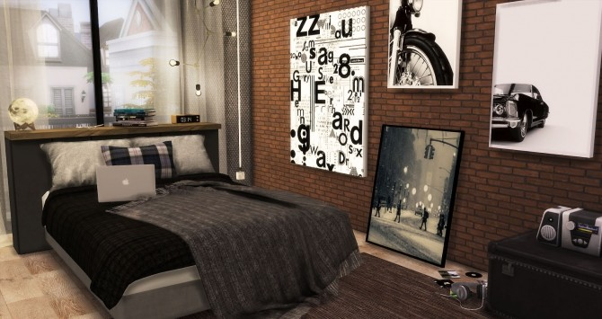 The Man Cave by RubyRed at Ruby's Home Design image 1030 670x355 Sims 4 Updates