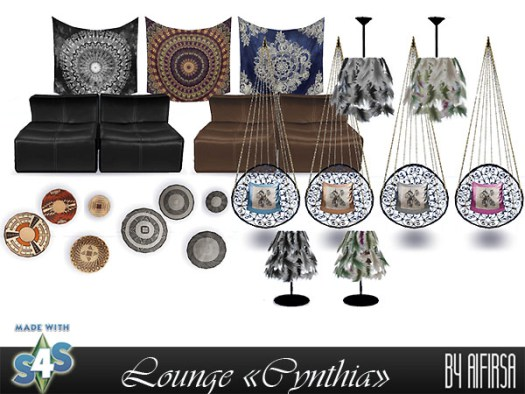 Cynthia lounge at Aifirsa image 1033 Sims 4 Updates