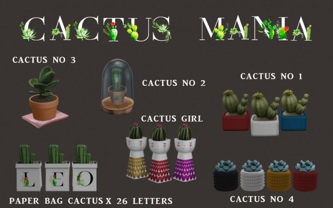 Cactus Mania (P) at Leo Sims image 1035 670x419 Sims 4 Updates