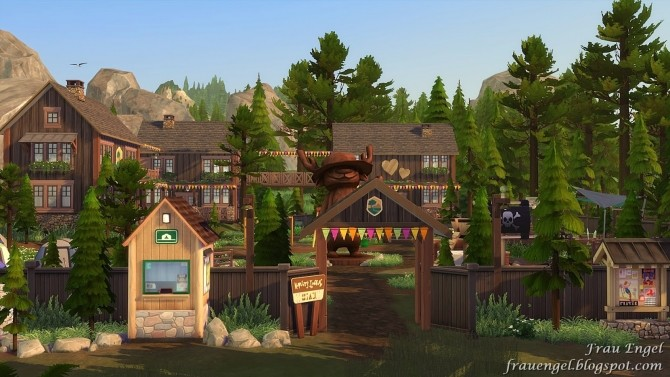 Scout Camp No CC at Frau Engel image 10411 670x377 Sims 4 Updates