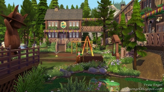 Scout Camp No CC at Frau Engel image 10511 670x377 Sims 4 Updates