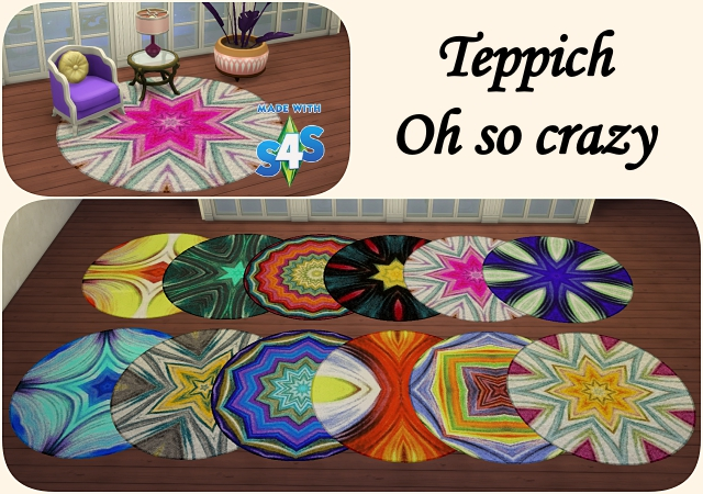 Oh so crazy rugs by Meryane at Beauty Sims image 1059 Sims 4 Updates
