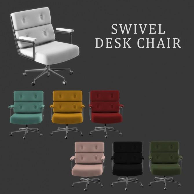 Sims 4 Swivel Chair at Leo Sims