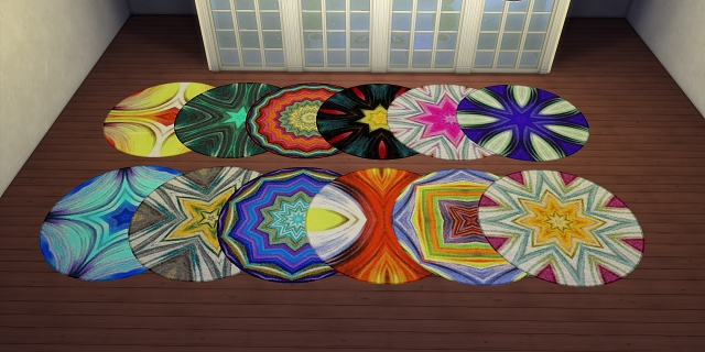Oh so crazy rugs by Meryane at Beauty Sims image 1079 Sims 4 Updates