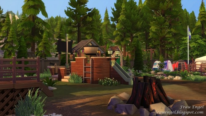 Scout Camp No CC at Frau Engel image 10811 670x377 Sims 4 Updates