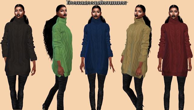 Sims 4 Fuzzi Sweater at Teenageeaglerunner