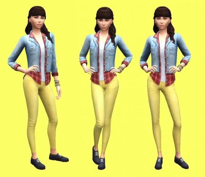 Sims 4 Sarah at MODELSIMS4