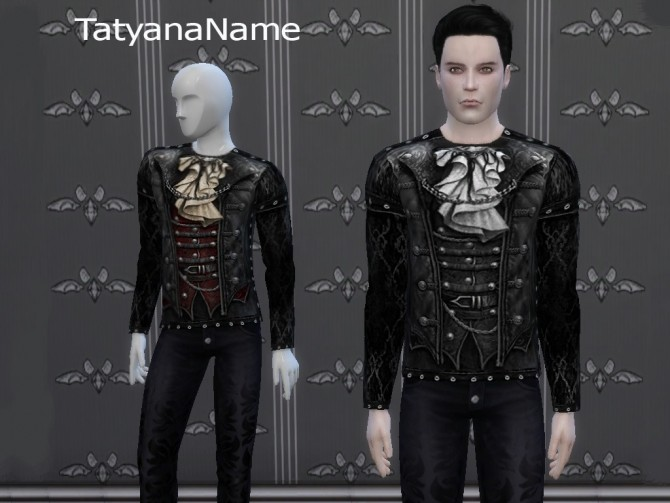 Leather Gothic Top at Tatyana Name image 1099 670x503 Sims 4 Updates
