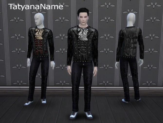 Leather Gothic Top at Tatyana Name image 11012 670x503 Sims 4 Updates