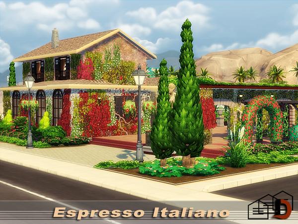 Espresso Italiano by Danuta720 at TSR image 1111 Sims 4 Updates