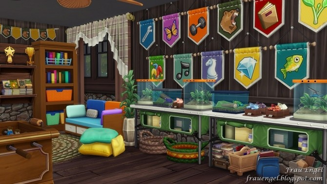 Scout Camp No CC at Frau Engel image 11114 670x377 Sims 4 Updates