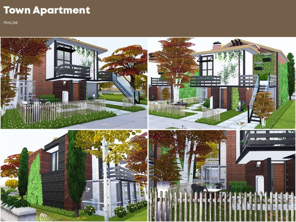 Town Apartment by Pralinesims at TSR image 1117 Sims 4 Updates