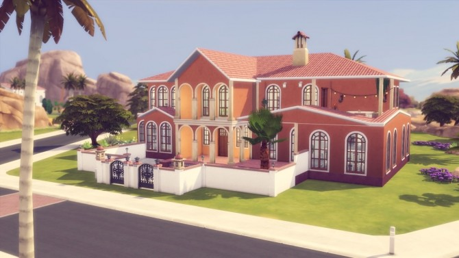 Sunny Lane house at Simming With Mary image 1141 670x377 Sims 4 Updates