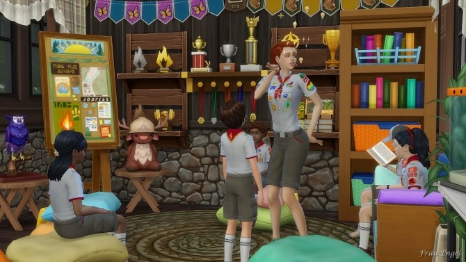Scout Camp No CC at Frau Engel image 11510 670x377 Sims 4 Updates