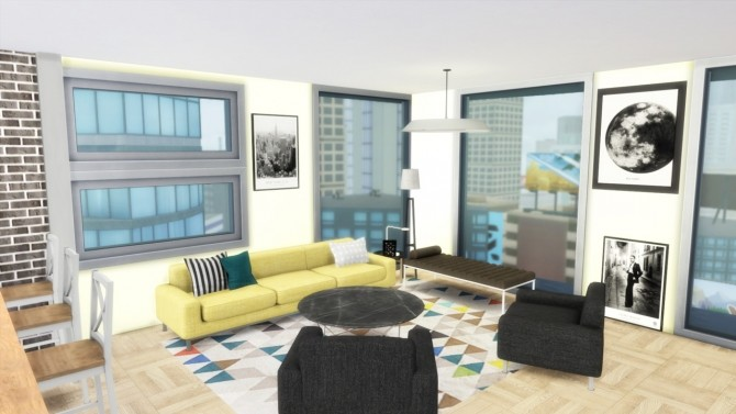 Sims 4 701 ZenView Apartment at Simming With Mary