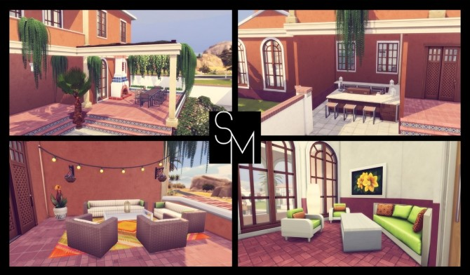Sunny Lane house at Simming With Mary image 1171 670x392 Sims 4 Updates