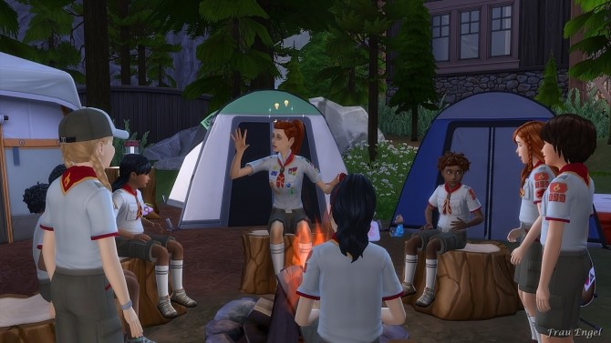 Scout Camp No CC at Frau Engel image 1178 670x377 Sims 4 Updates
